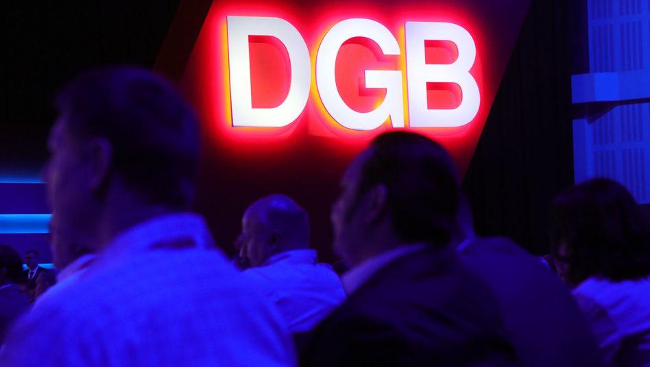 Treffen des Deutschen Gewerkschaftsbunds (Archivbild)