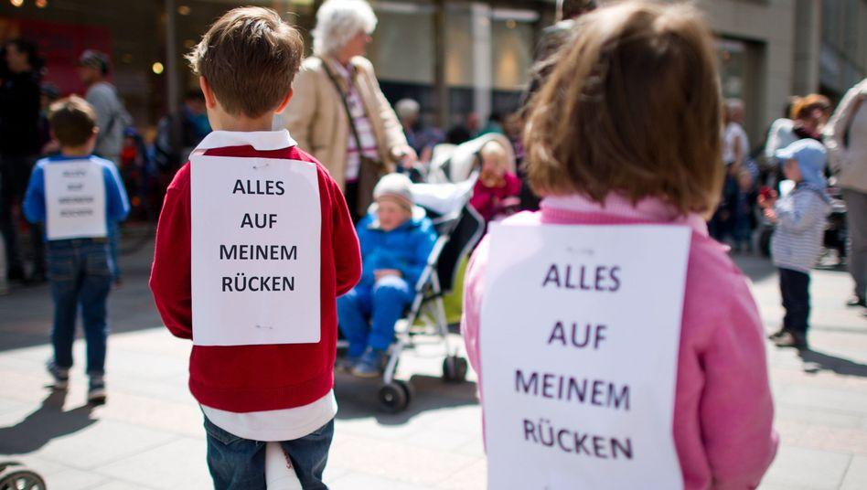 Protest in Mainz: Der Streik nervt - darf er das?