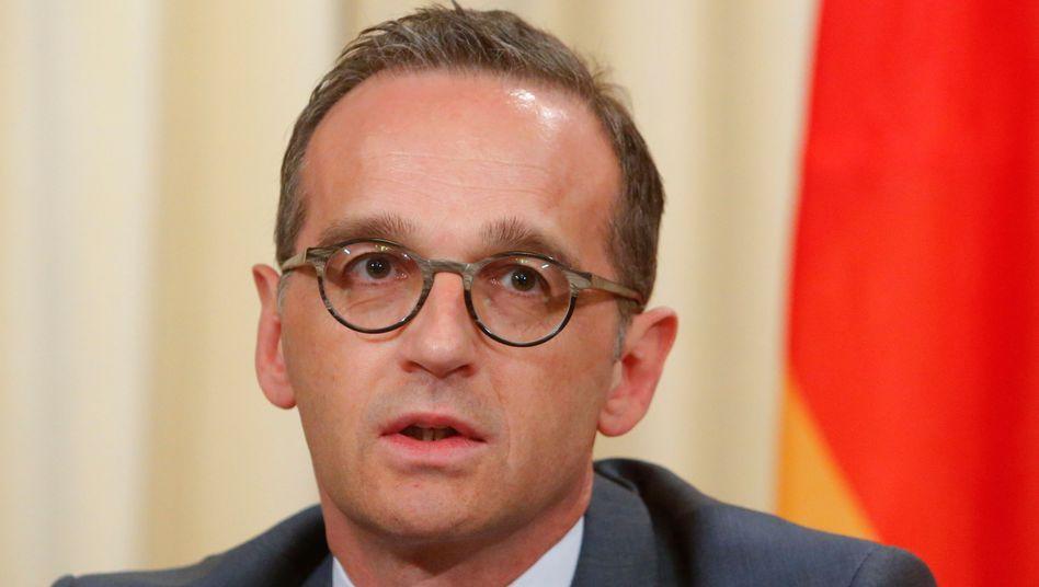 Außenminister Maas