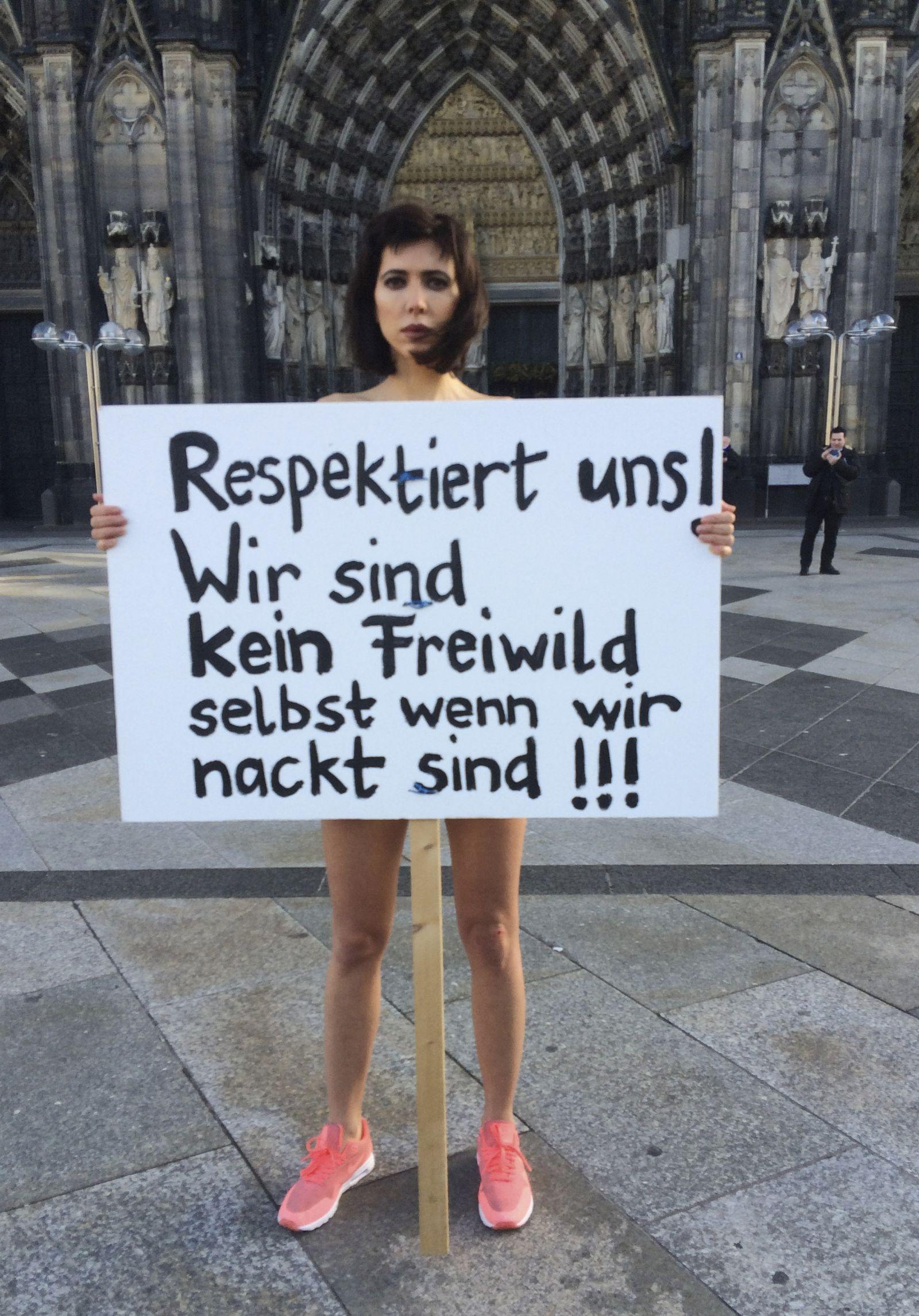 Buch/ Vergewaltigung/ Kölner Dom / Performance Milo Moire / Sexuelle Belästigung