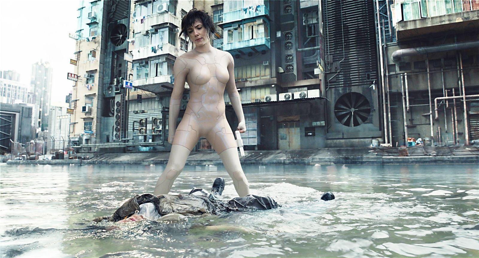 EINMALIGE VERWENDUNG Film/ Ghost in the Shell