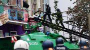 """Polizei räumt """"Liebig 34"""""""