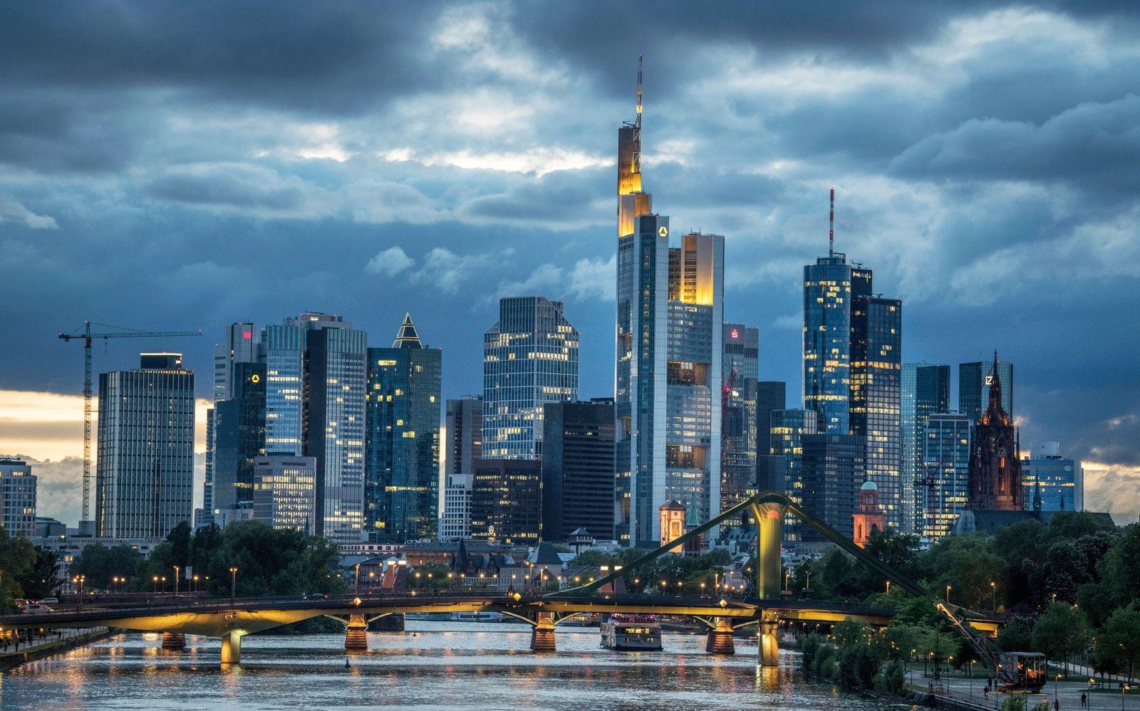 Frankfurt Skyline / Banken