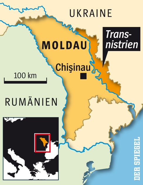 Die Republik Moldau und das abtrünnige Transnistrien