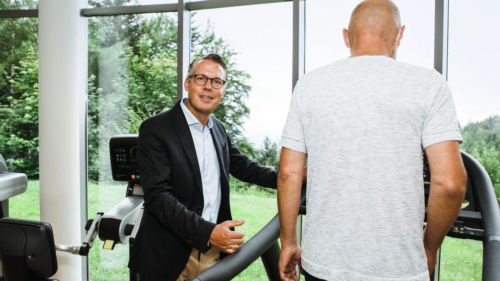 Psychosomatiker Graz, Patient: »Fußtritt mit Schmerz«