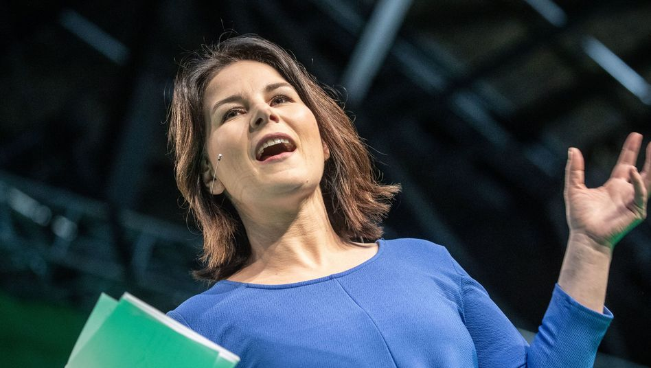 """""""Große Befürchtungen"""": Grünen-Chefin Annalena Baerbock"""