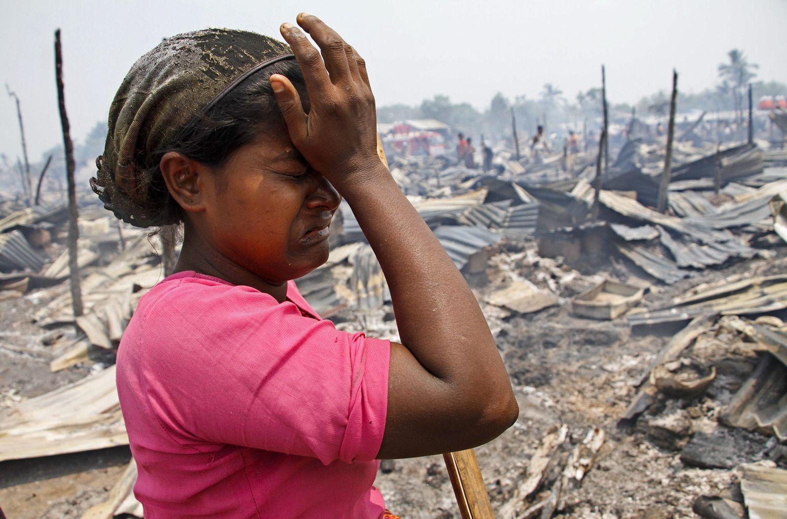 Völkermordklage gegen Myanmar