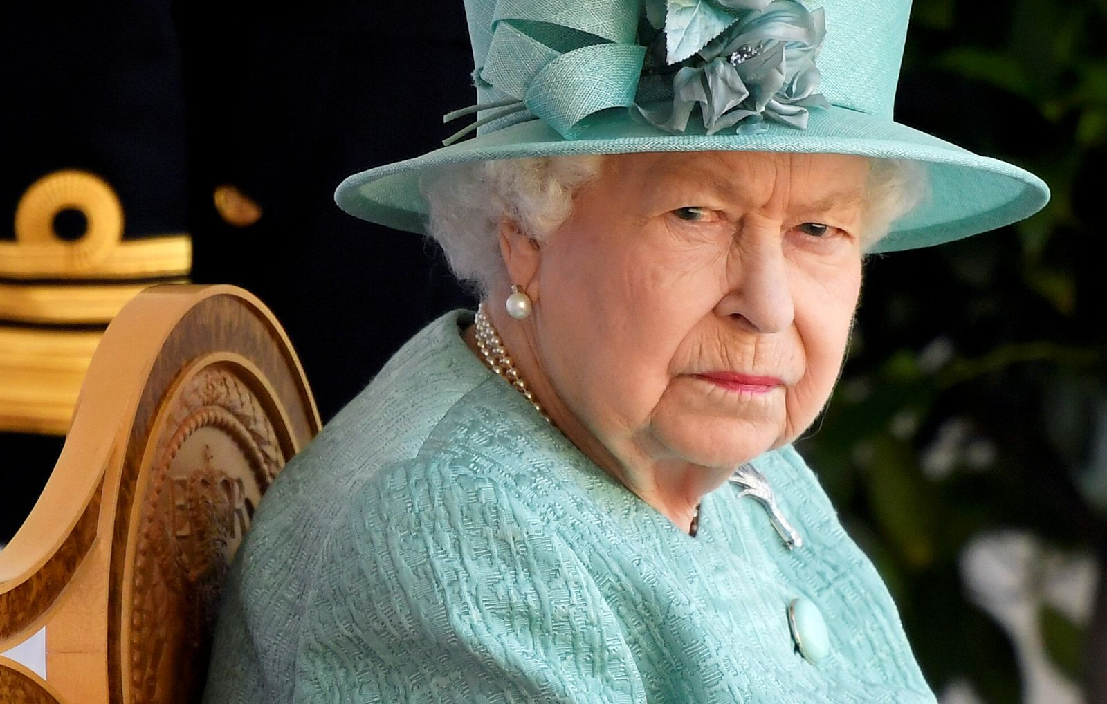 FILE PHOTO: Britain's Queen Elizabeth pictured in 2020