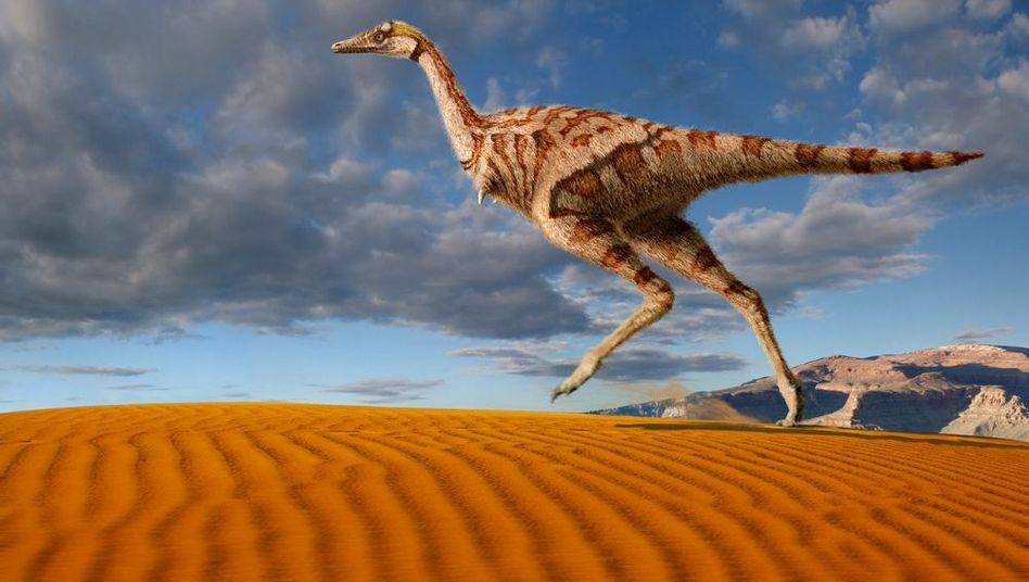 Linhenykus monodactylus (Illustration): Dinosaurier hatte nur einen Finger pro Klaue