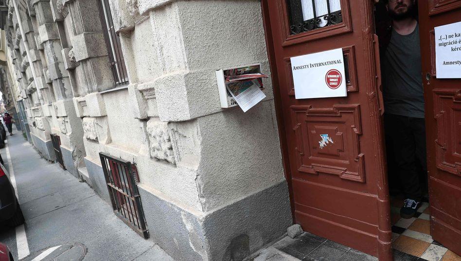 Büro von Amnesty International Ungarn