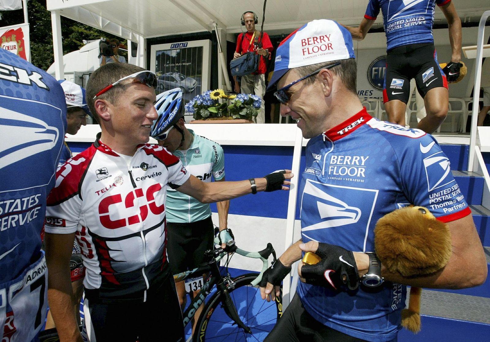 Lance Armstrong/Tyler Hamilton
