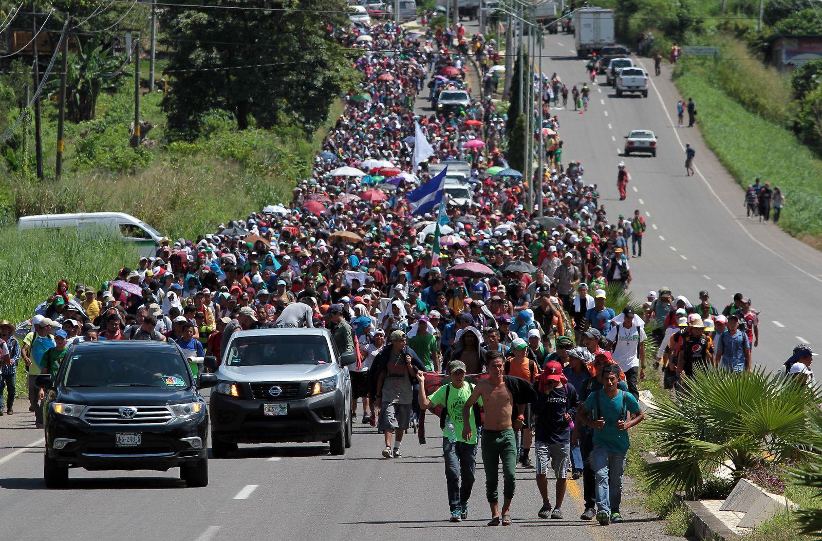 Migranten/ USA/ Mexico