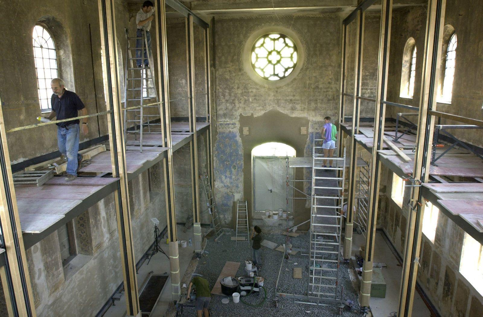 Restaurierte Synagoge Kippenheim