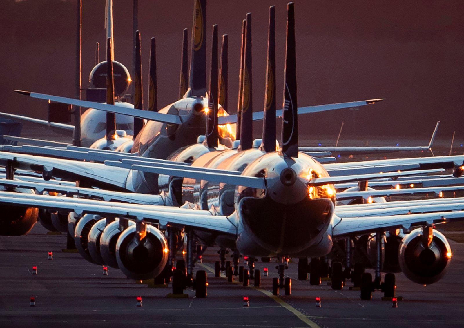 Germany Virus Outbreak Lufthansa