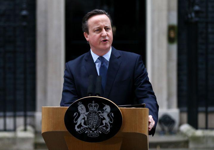 """Britischer Premier David Cameron: """"Eine der größten Entscheidungen zu unseren Lebzeiten"""""""