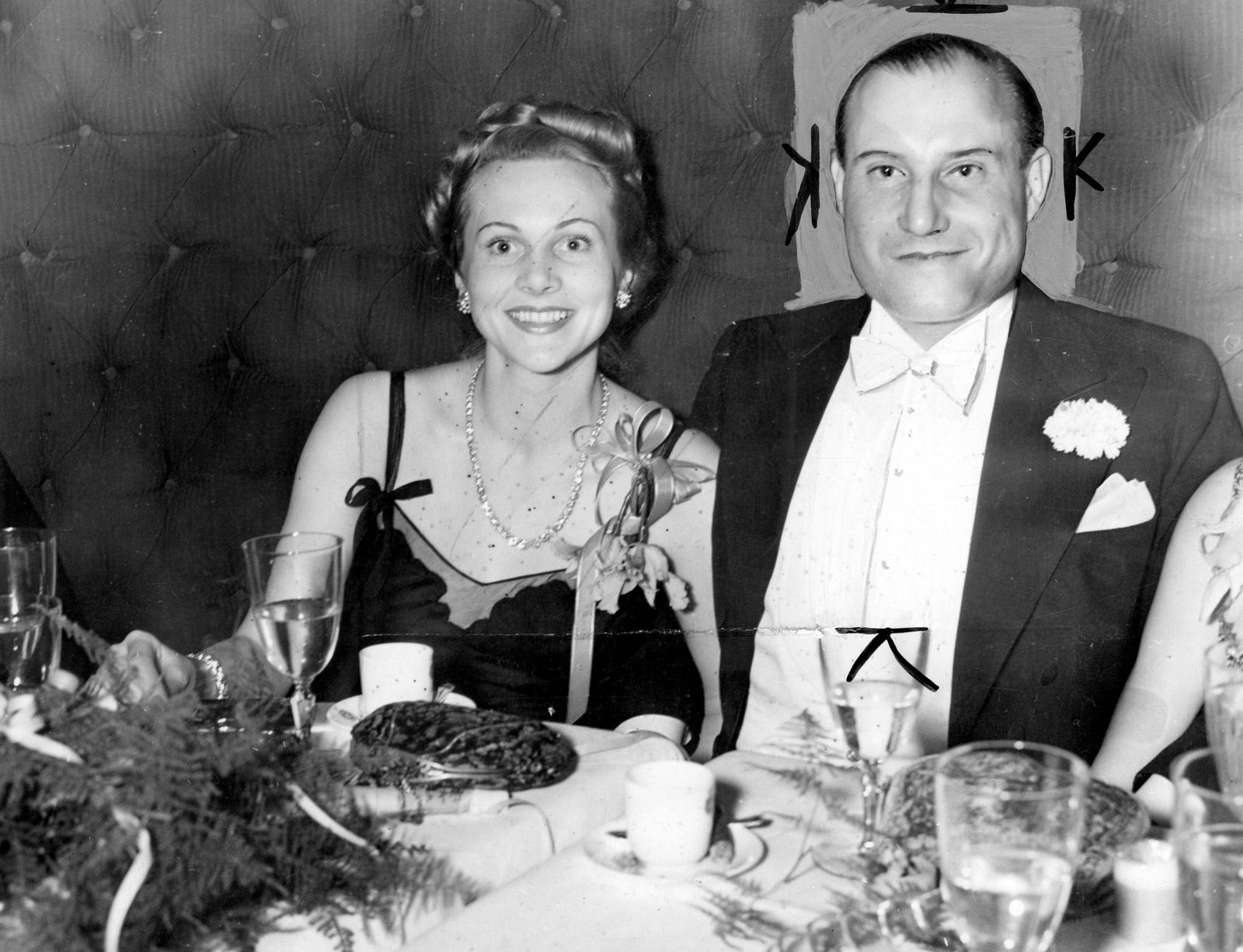 Fritz Mandl one time munitions magnate and former husband of film actress Hedy Lamar pictured with