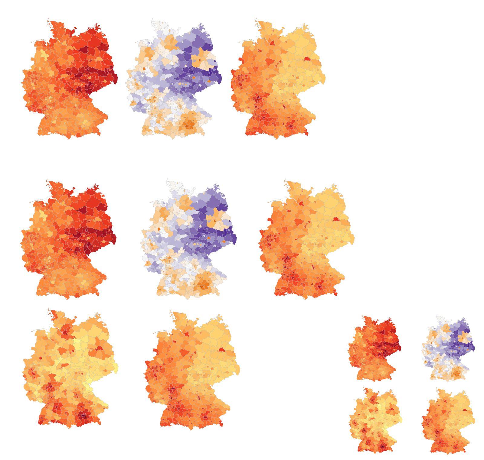 Bevölkerung, Arbeitslose, Miete