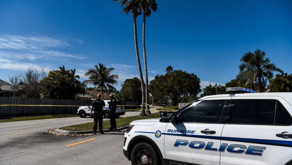 Polizeiauto in Sunrise, Florida
