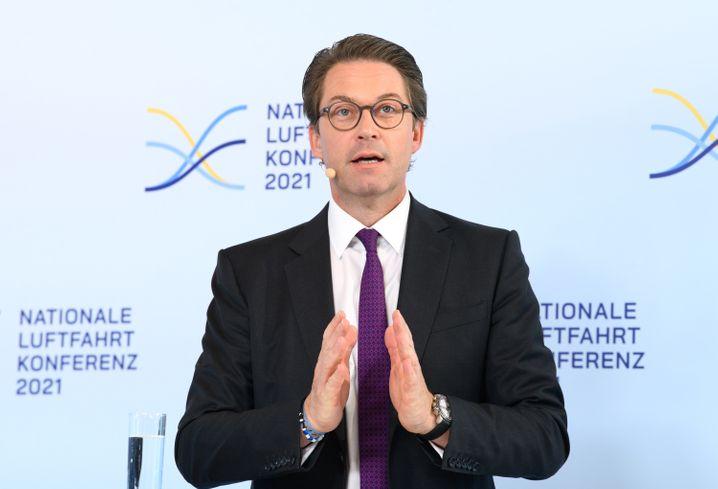 Verkehrsminister Scheuer: Hoffen auf ein »New Normal«