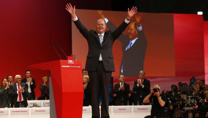 Parteitag: SPD kürt Steinbrück