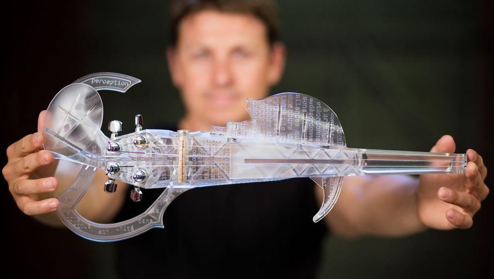 Violine aus dem Drucker: Hier entsteht die Stradivari der Zukunft