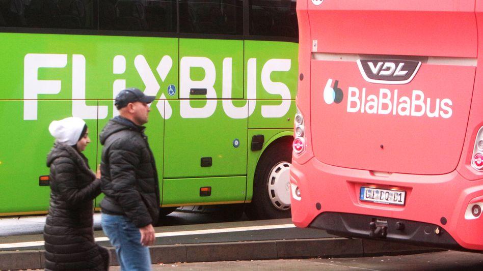 Gemeinsam gegen die Bahn: Fernbuslinien locken mit Billigtickets