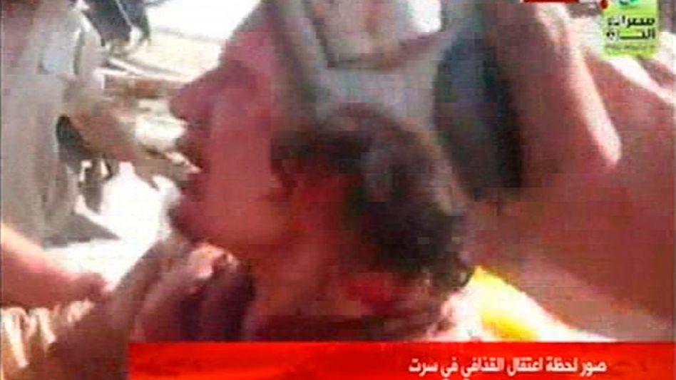Video von Gaddafi-Festnahme: Wer erschoss den Diktator?