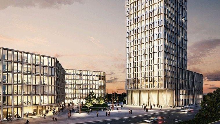 Neue Zentrale in Bonn (Entwurf)