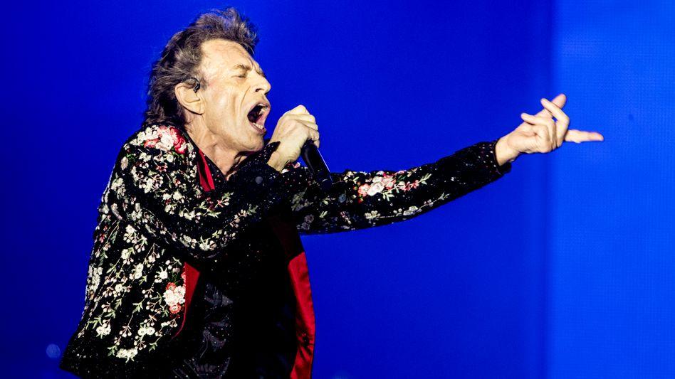 Will seine Musik nicht bei Wahlkampfauftritten hören: Stones-Sänger Mick Jagger, hier bei einem Auftritt im August 2019