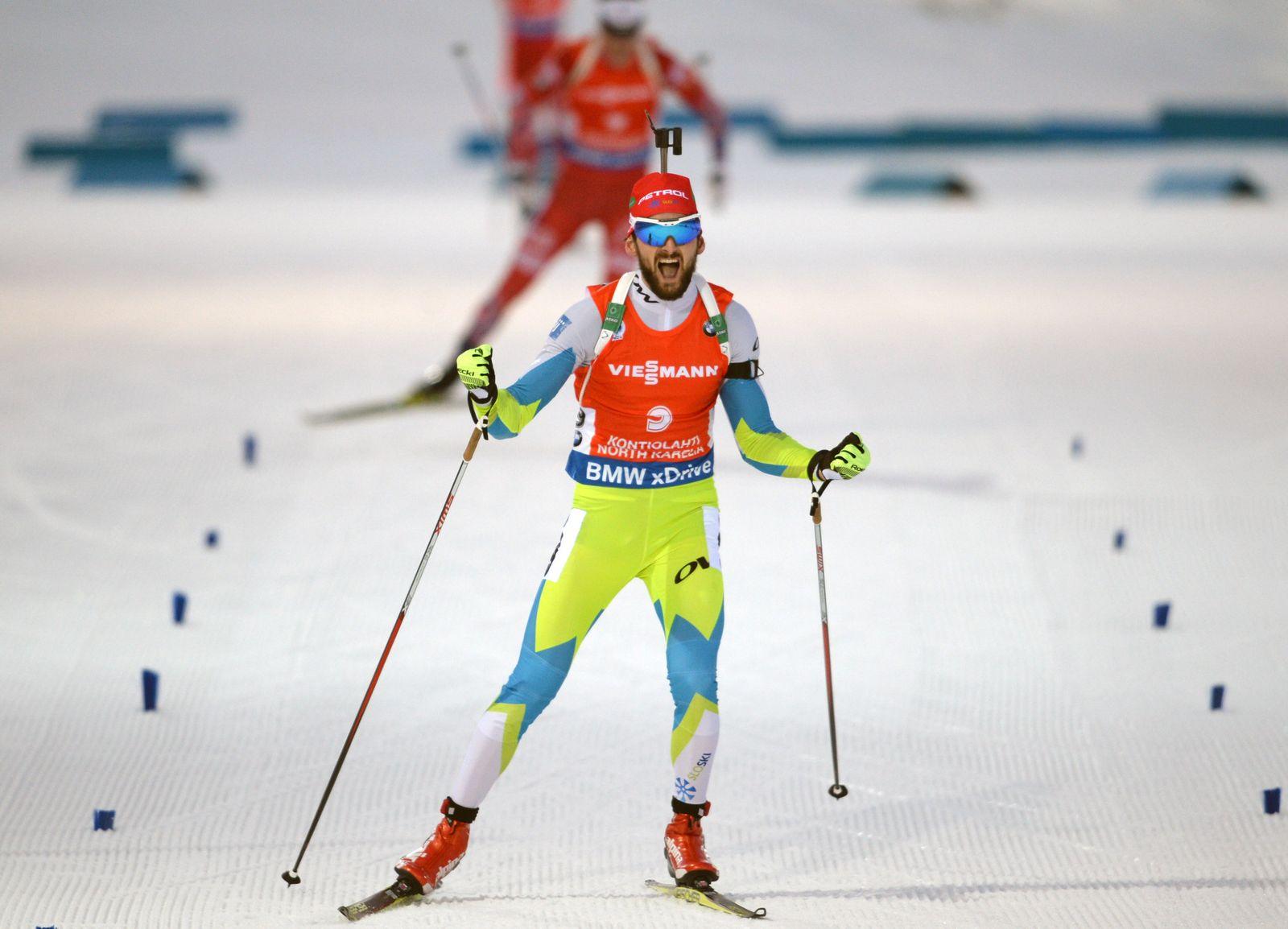 Biathlon World Championships Jakuv Fak