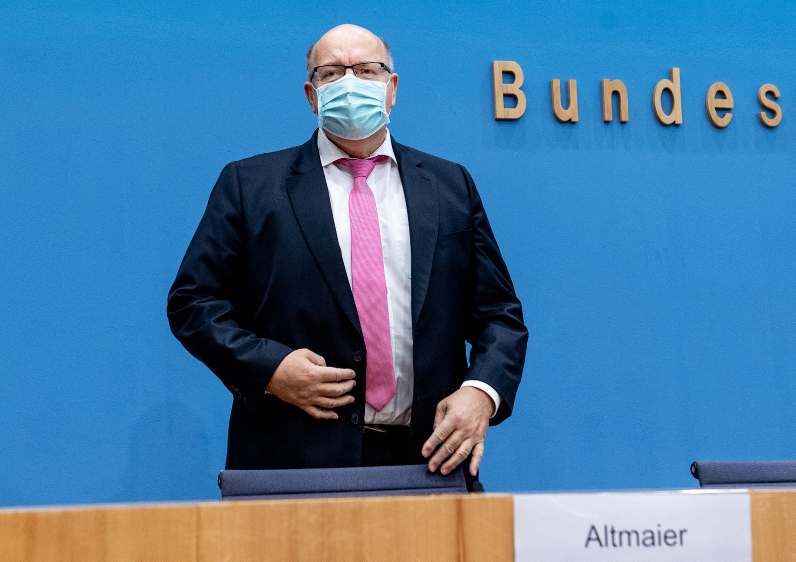 Press Conference For The German Economic Projection For The Autumn