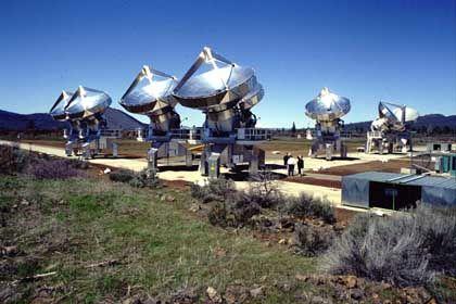Allen Telescope Array (Archivbild von 2000): Horchen nach Alien-Botschaften