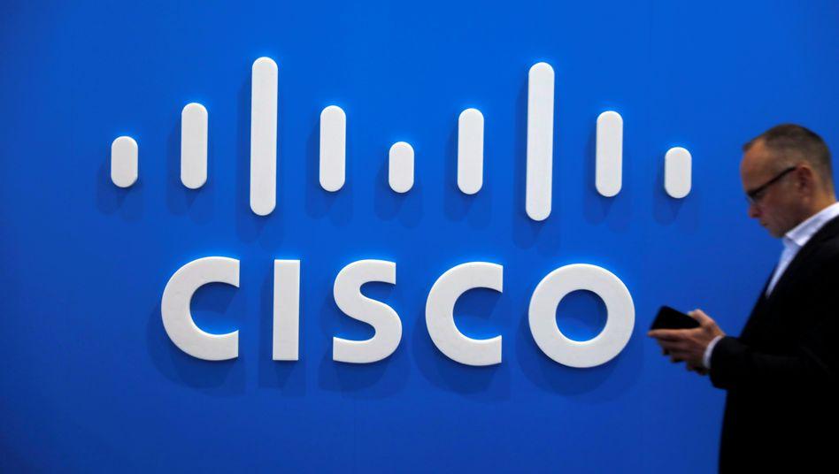 Cisco-Stand auf einer Messe-Veranstaltung in Barcelona: »De facto installiert man als Nutzer eine Blackbox«