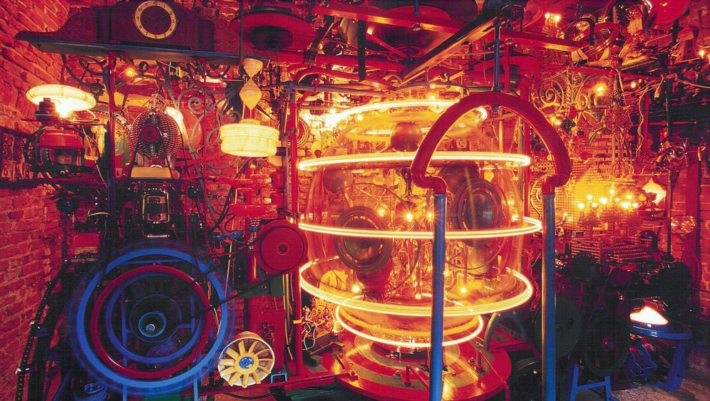 Absurdes Kunstwerk: Die wundersame Weltmaschine