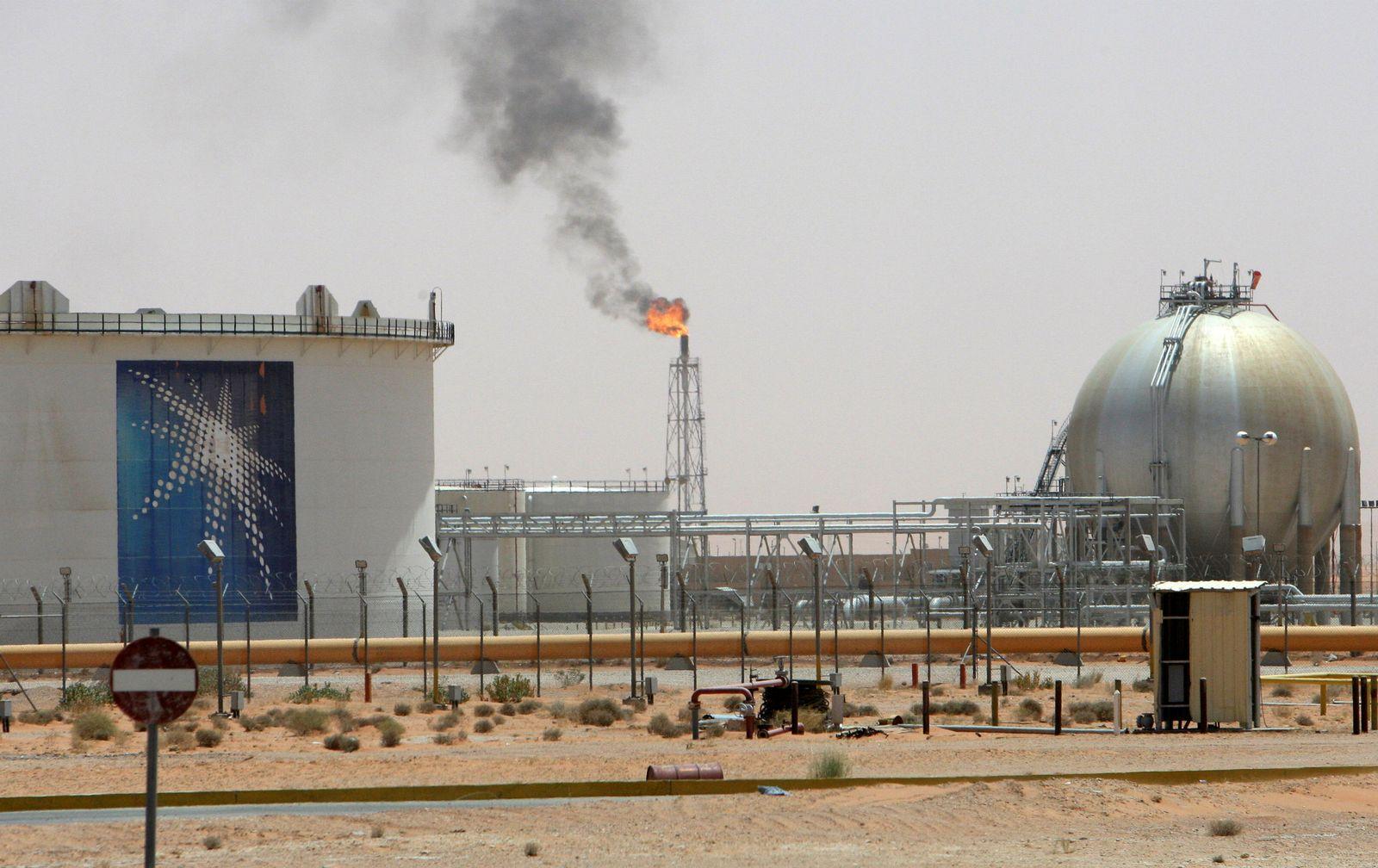 Saudi Arabien/ Ölfeld