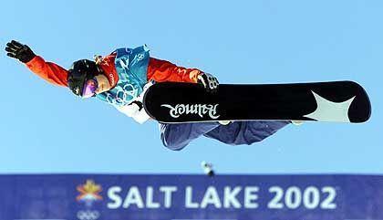 Finale verpasst: Die deutsche Snowboarderin Sabine Wehr-Hasler in der Halfpipe-Qualifikation
