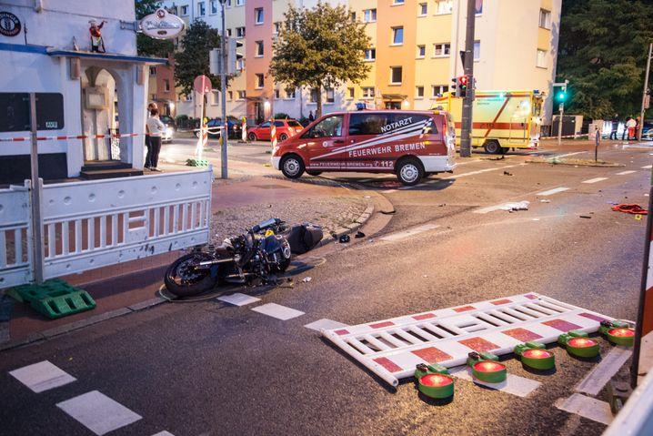 Unfallort oder Tatort? Schauplatz der Kollision in Bremen