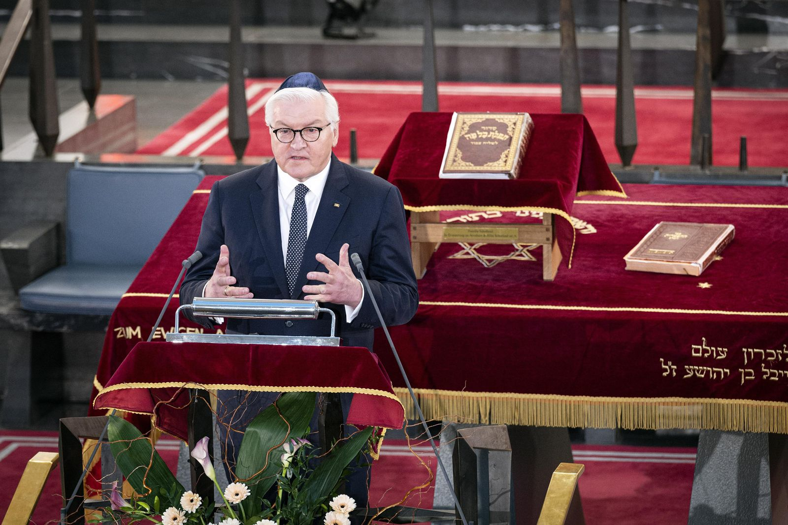 Steinmeier speech on '1700 years of Jewish life in Germany', Cologne - 16 Feb 2021