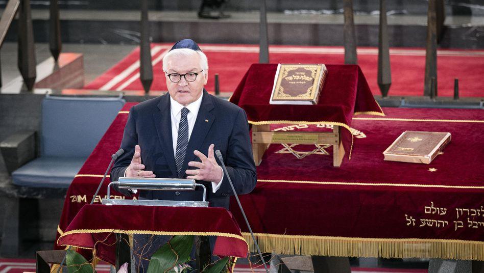 Bundespräsident Steinmeier: »Ein unermessliches Glück für unser Land«