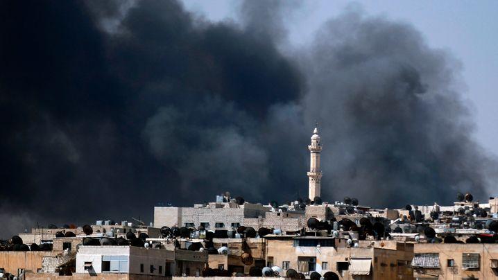 Kampf um Aleppo: Assad lässt Stadtviertel beschießen