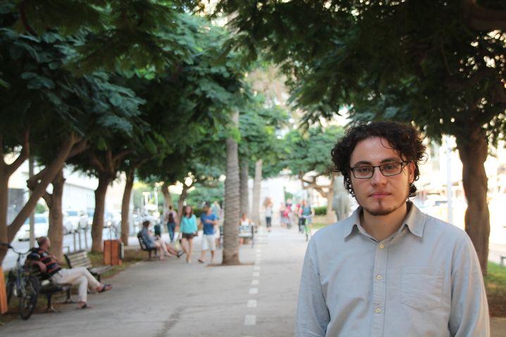 Der Israeli Uri Weltmann, 30, studiert Philosophie an der Universität Haifa