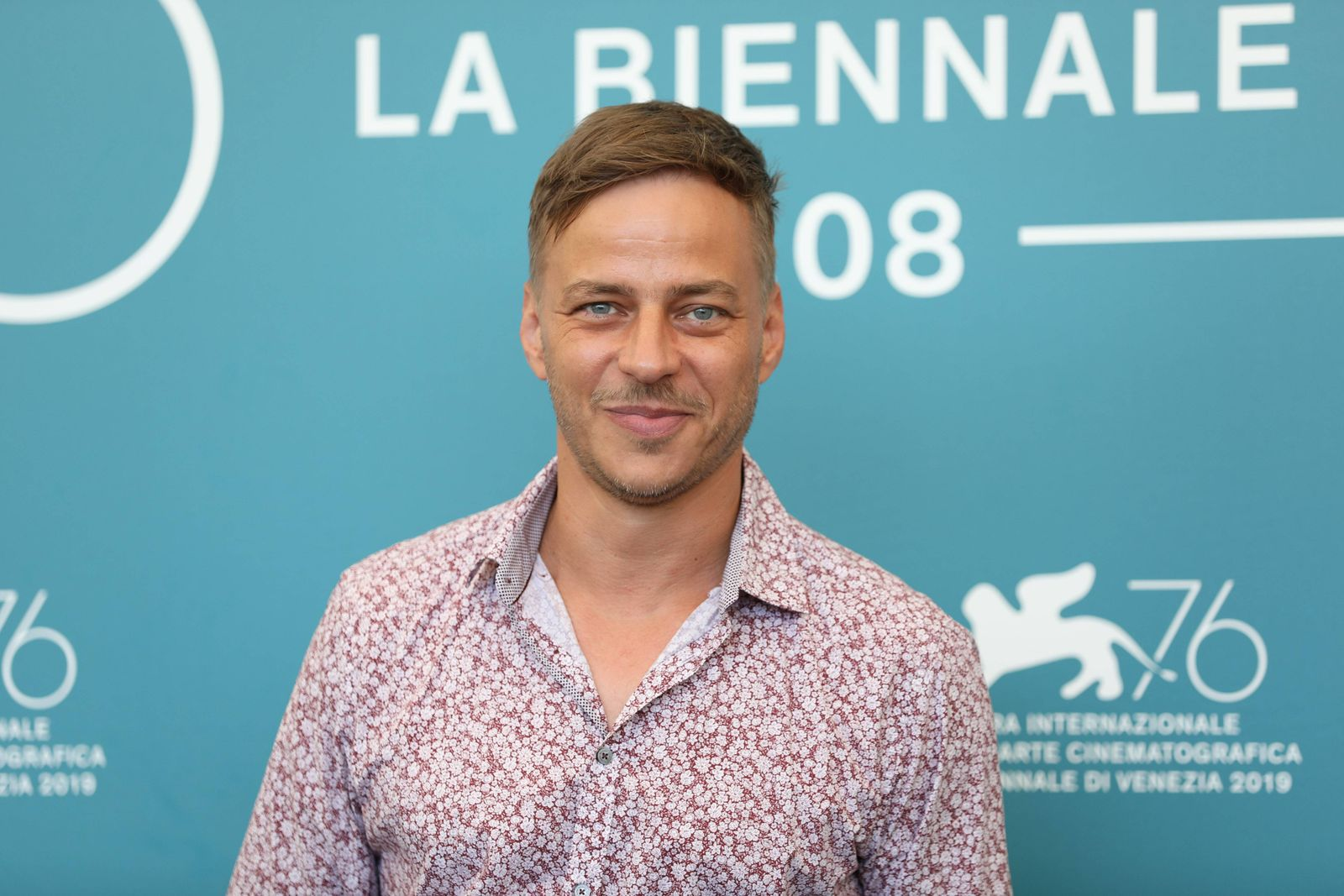 190905 VENICE Sept 5 2019 Actor Tom Wlaschiha attends a photocall for the film Saturday