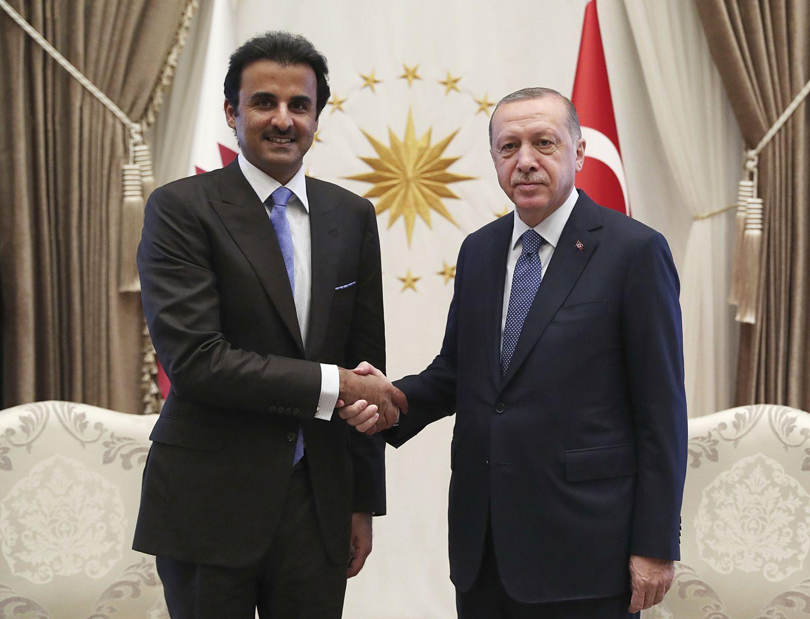 Emir von Katar besucht Türkei