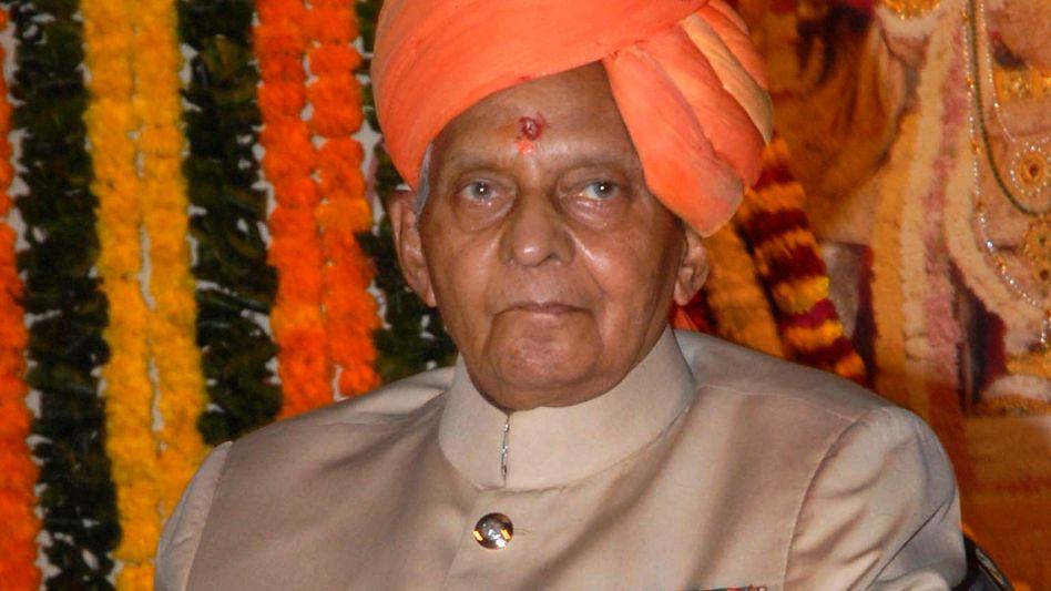 Bhawani Singh (im Oktober 2010): Zwei Tage Staatstrauer
