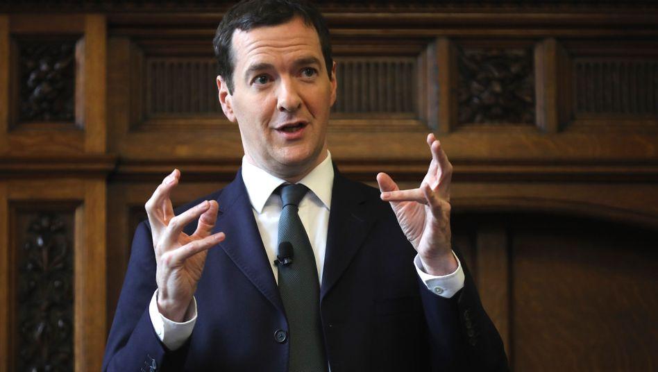 Britischer FinanzministerGeorge Osborne