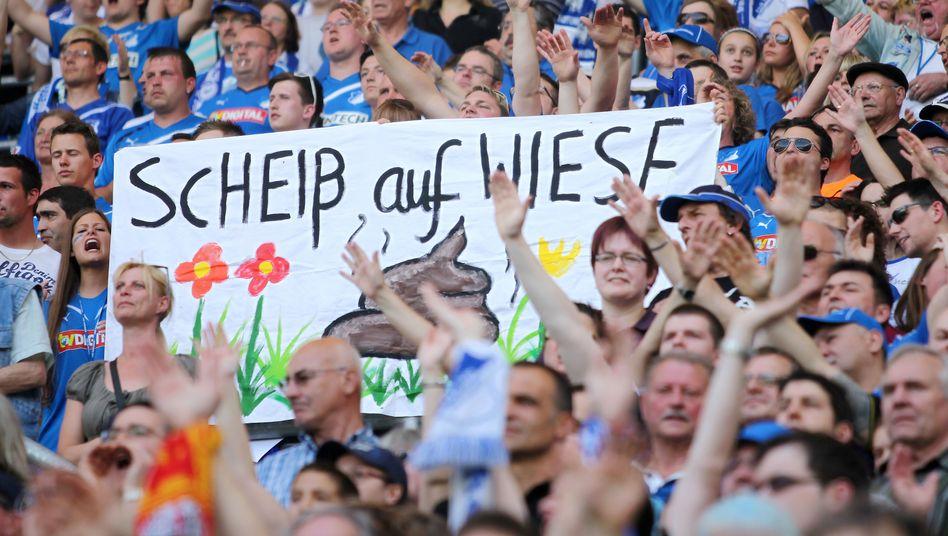 Hoffenheimer Fan-Protest: Klare Meinung zu Wiese-Wechsel