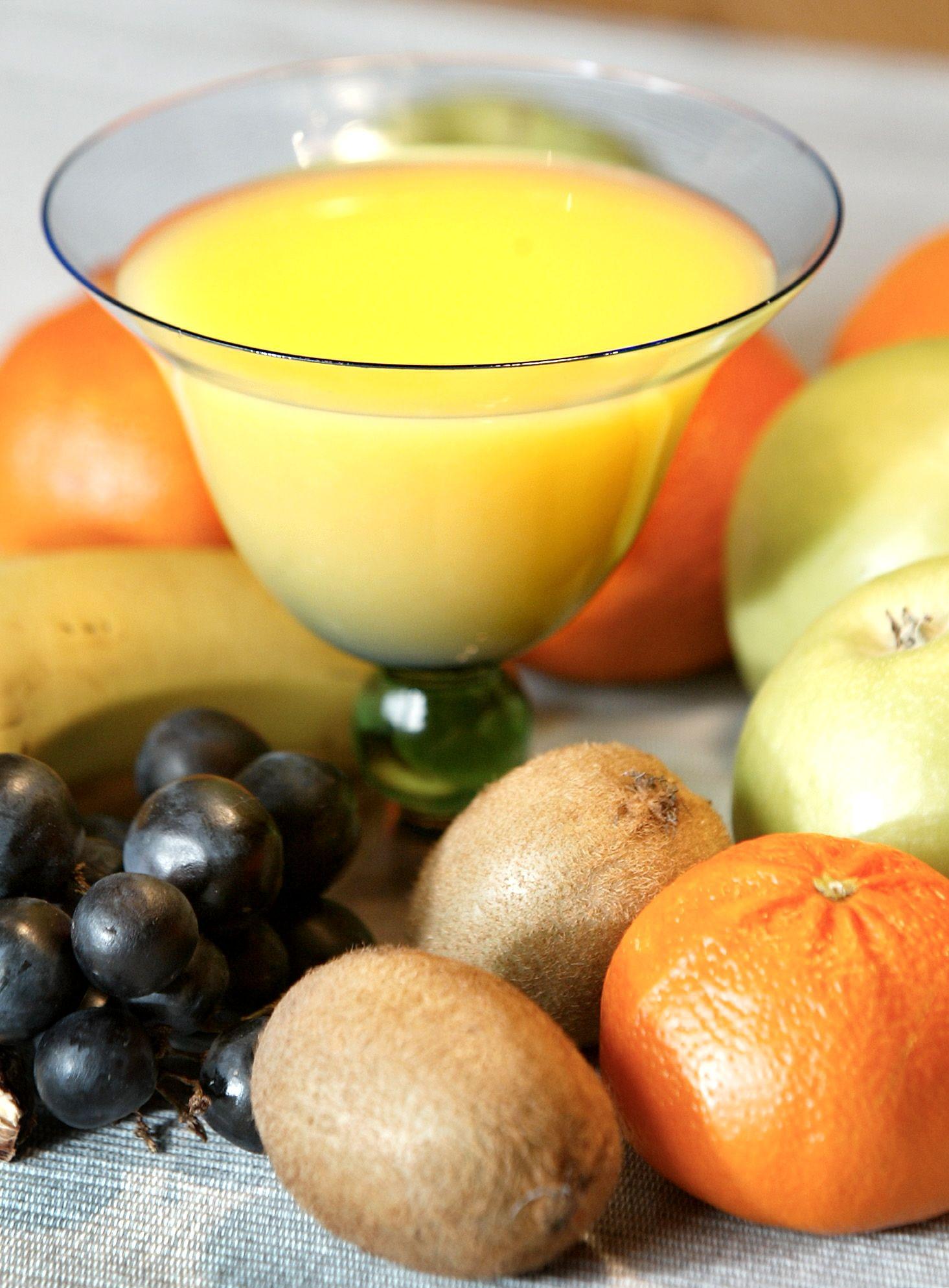 NICHT VERWENDEN Orangensaft / Obst