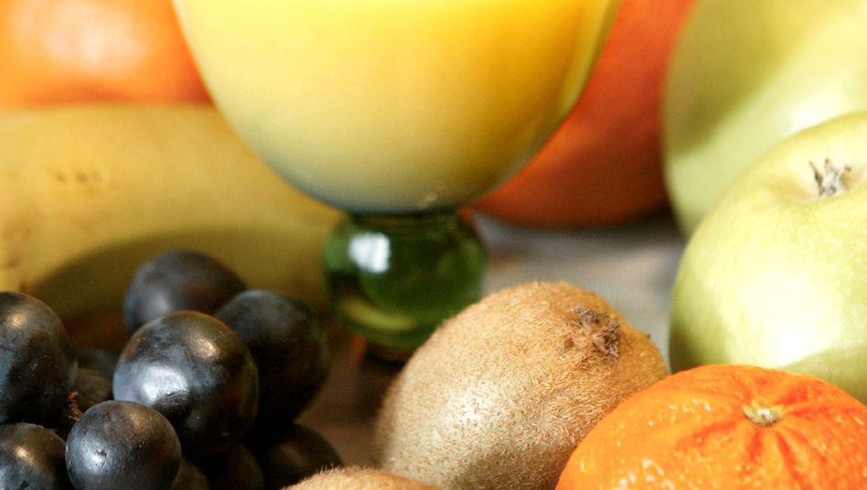 Glas Orangensaft: Fungizide in amerikanischen Produkten gefunden