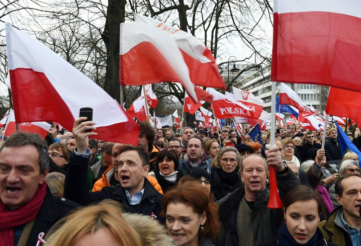 Demonstration in Warschau: Ein Schimmer der Hoffnung