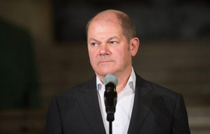 Hamburgs Bürgermeister Scholz: Das Ergebnis ist zu akzeptieren